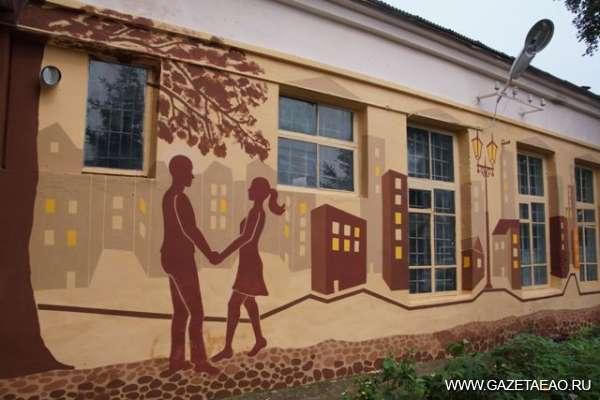 Нарисуй мечту на… стенах - Роспись стен здания областной типографии