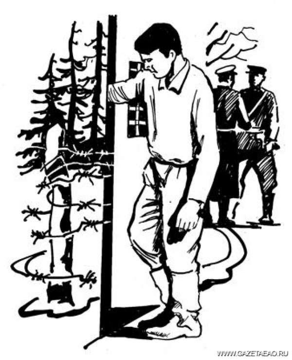 Сломанная судьба - Рисунок Владислава Цапа