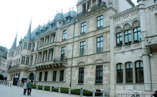 Маленькая страна - Парламент  Люксимбурга