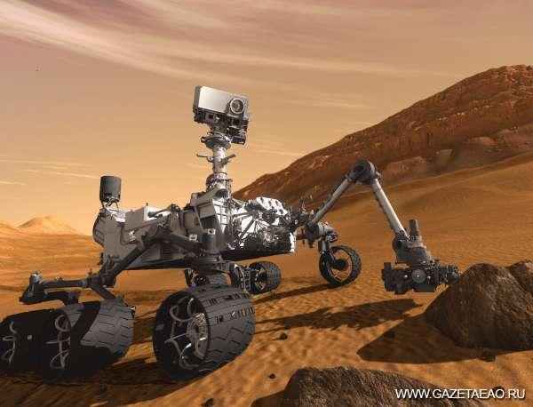 Марсоход исследует Красную планету - Марсоход Curiosity (Любопытство)