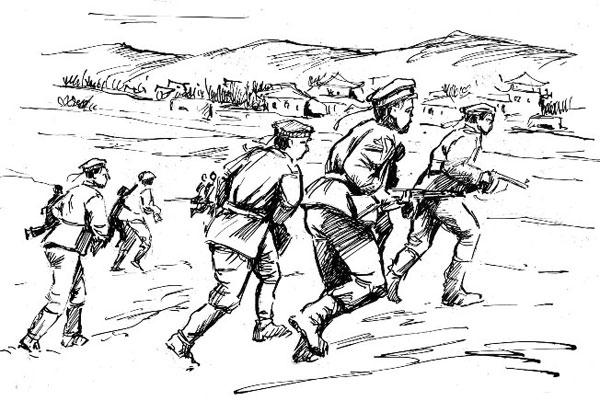 История моего деда - Рисунок Владислава Цапа