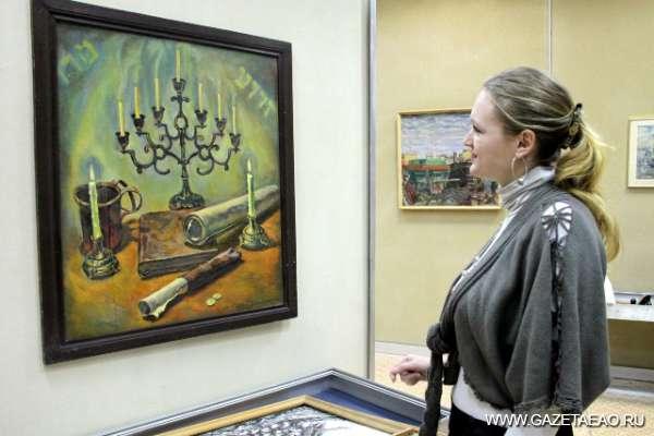 Дары — на показ - Картина Вячеслава Брагинского «Ностальгия».