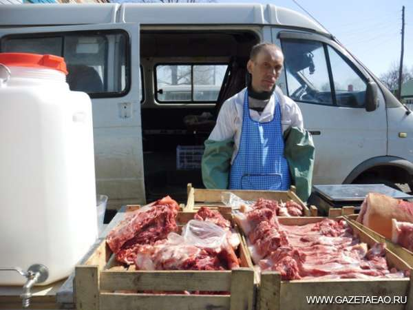 Меняют мясо на корма