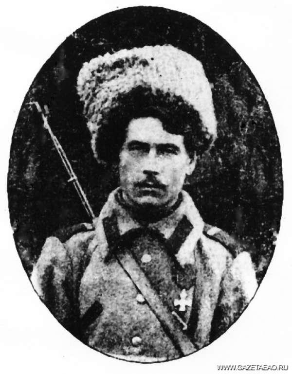 Кому папахи носить - Алексей Раков, приказный 2-го Амурского казачьего полка из станицы Михайло-Семеновской
