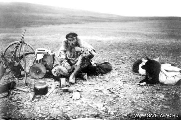 От Приамурья до Арктики - Начальник острова Врангеля Георгий Ушаков. Автопортрет, конец 1920-х