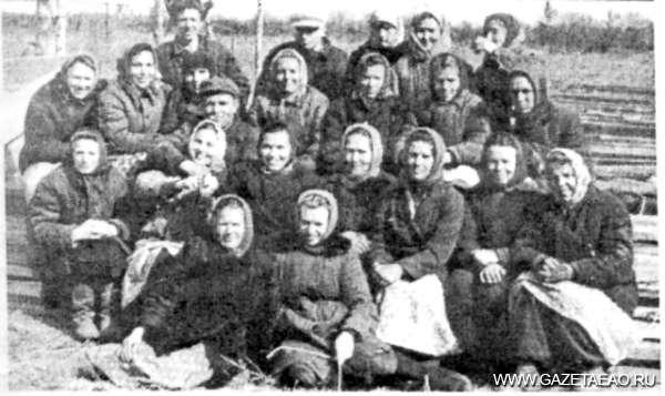 Все для фронта, все для победы! - Бригада овощеводов села Надеждинское, 1940-е годы