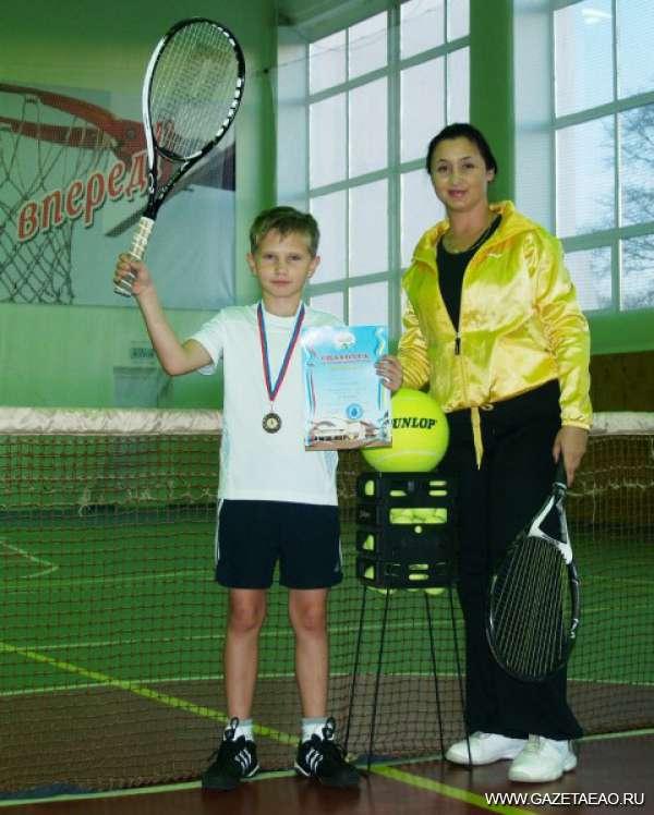 Из Хабаровска с победой - Победитель со своим тренером