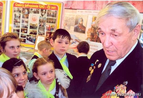 Это нужно живым - Василий Чигрин со школьниками