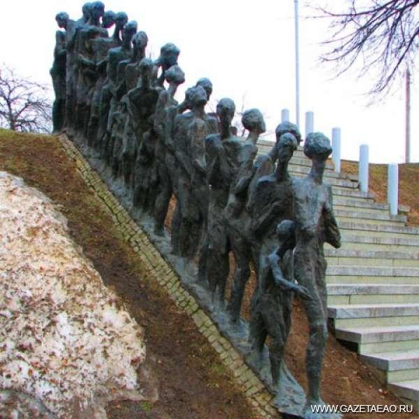 Дело о душегубках - Мемориал Яма Минское гетто