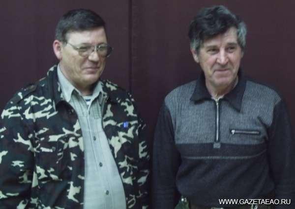 Кузница сельских кадров - Мастера Александр Московских (слева) и Виктор Демчук