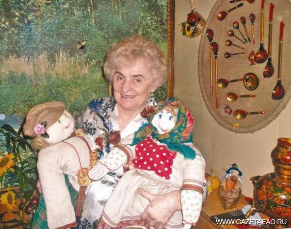 Кукла Дуня, кукла Сара…