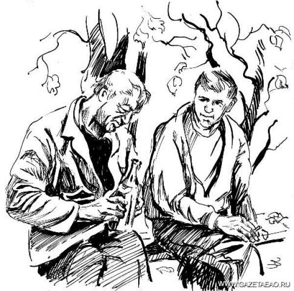 Два случая из одной жизни - Рисунки Владислава Цапа