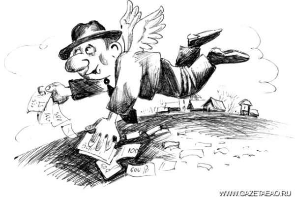 Миллионы «приплыли» - Рисунок Владислава Цапа