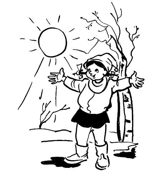 Веснянки - Рисунок Владислава Цапа