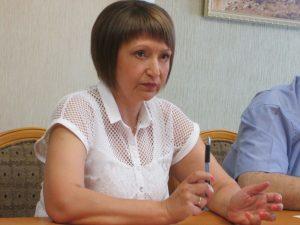 Анастасия Филиппова, председатель комитета социальной защиты населения правительства области