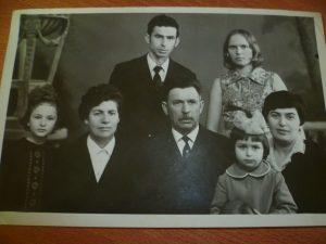 Фира Кофман с семьей