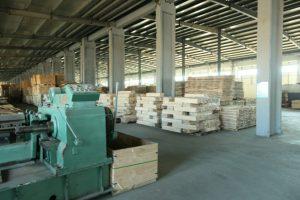В области растет производство пиломатериалов