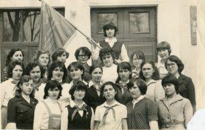 Лучшая группа педучилища. 1980 год