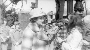 "Закладка ""первого кирпича"" Дома пионеров, май,  1977 год"