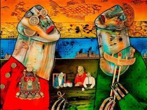 Одна из работ Сергея Бунькова