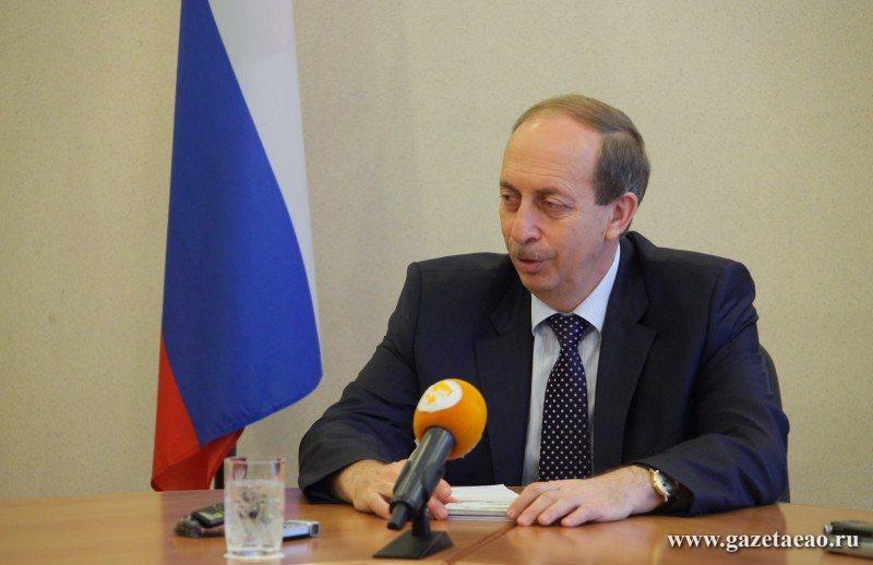 На брифинге глава региона подвел итоги работы делегации ЕАО на ВЭФ