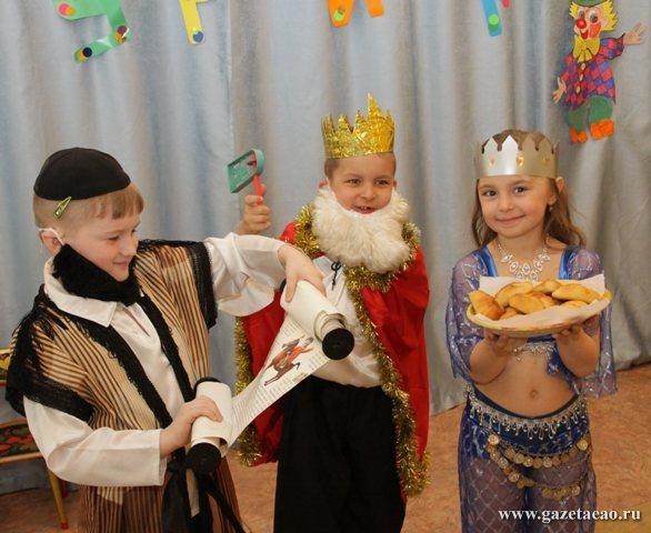 Еврейская культура  в собственном соку - Пуримшпиль для самых маленьких