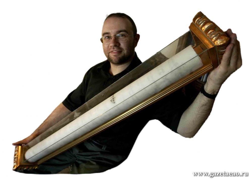 Мезуза – страж дверей - Самая большая мезуза в мире