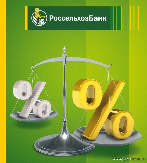 Россельхозбанк установил минимальные ставки рефинансирования  потребительских кредитов в сторонних банках