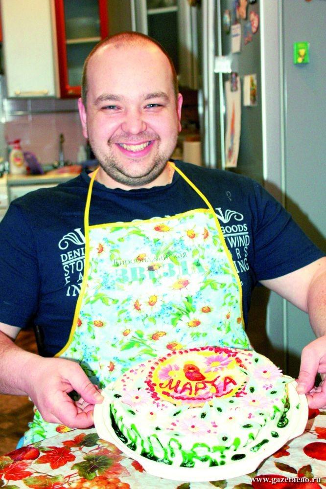 Печем торт для любимой
