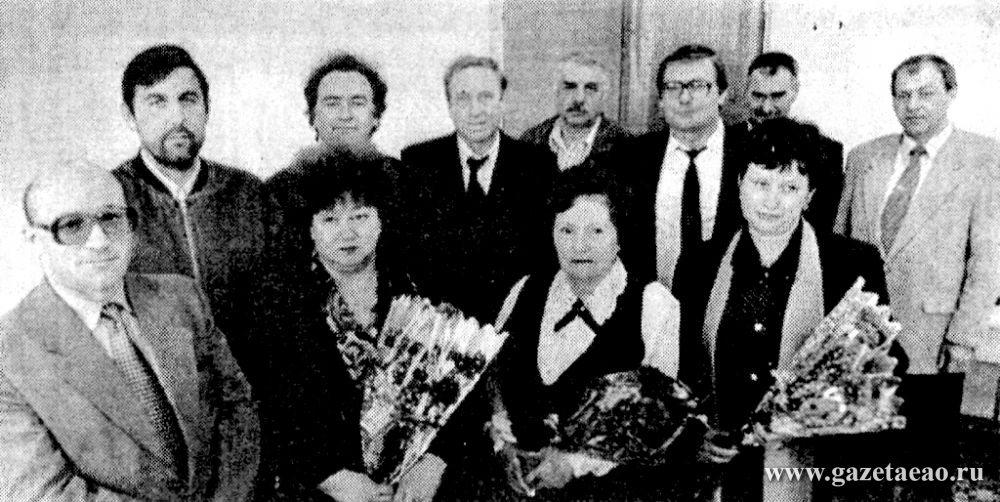 У городской Думы – юбилей - Депутаты городской Думы первого созыва, 1997 год