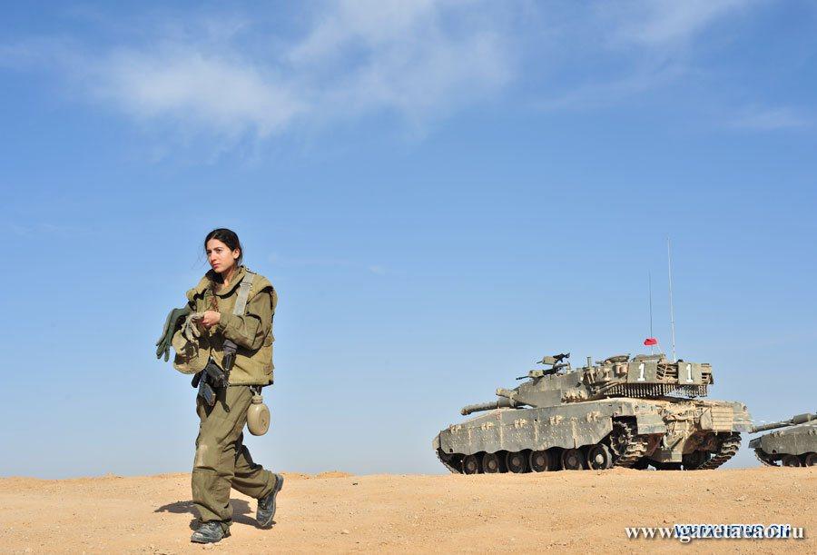 «Комбат-мамани»  в израильской армии
