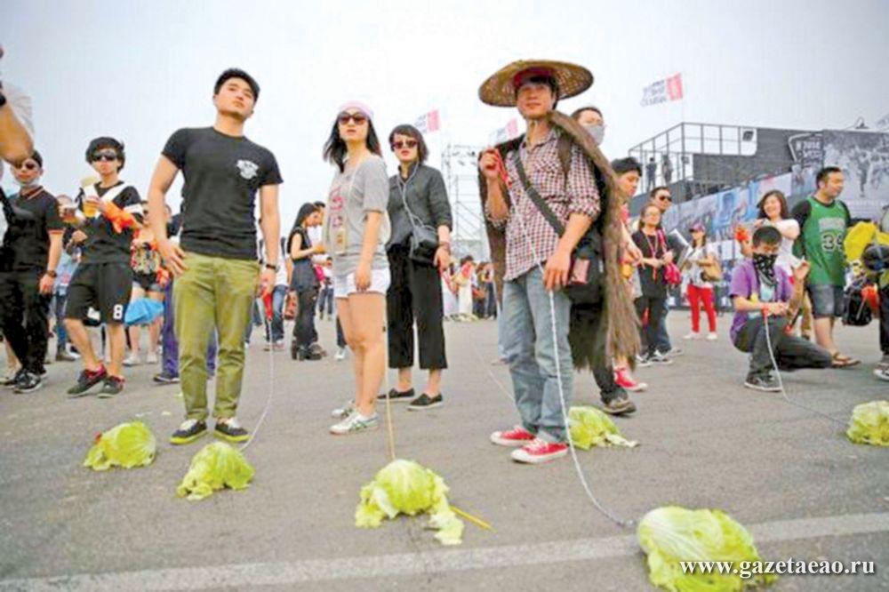 Зачем китайцы гуляют с капустой?