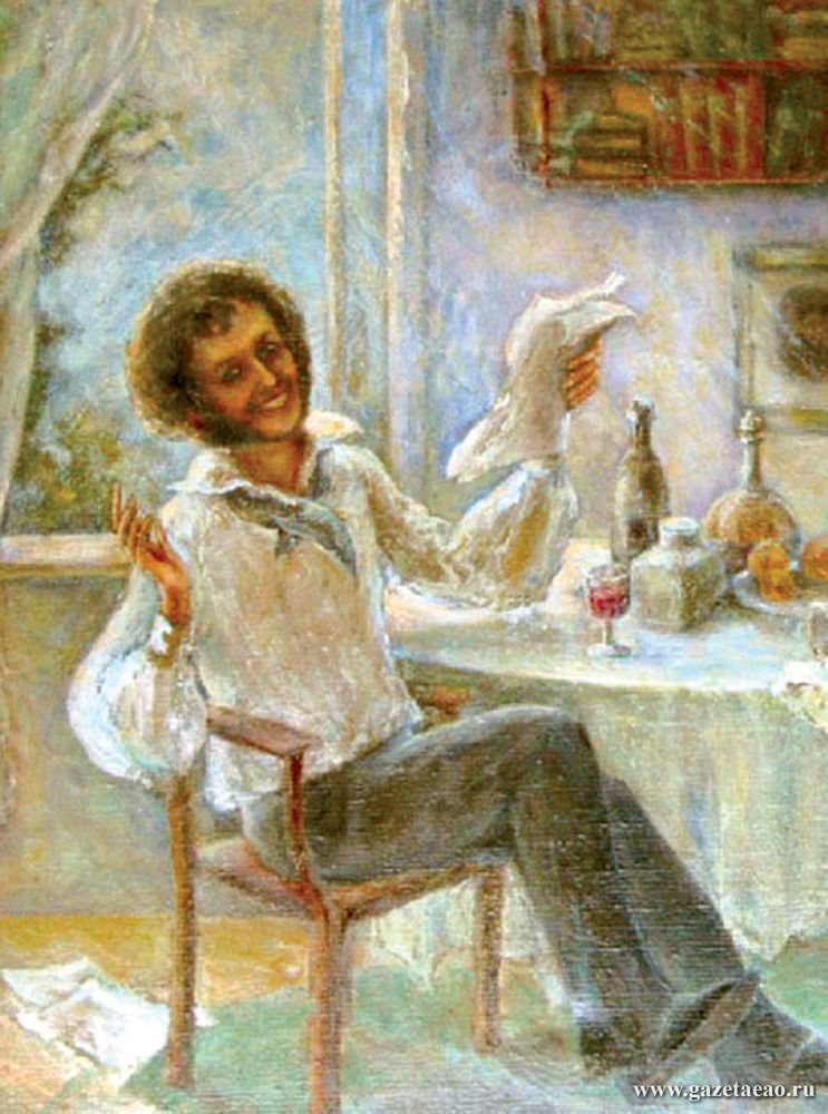 «Фоткался» ли А.С. Пушкин на паспорт?