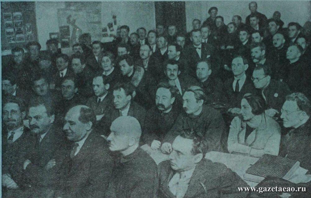 Первые шаги  еврейского переселения - Трибуна 1928 № 1-2. Заседание пленума Центрального Совета и Центрального Правления ОЗЕТ