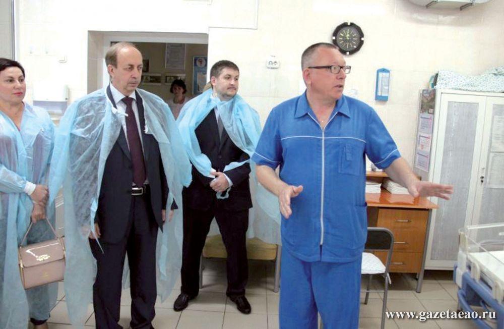 Больницы области «подтянут»  к требованиям дня