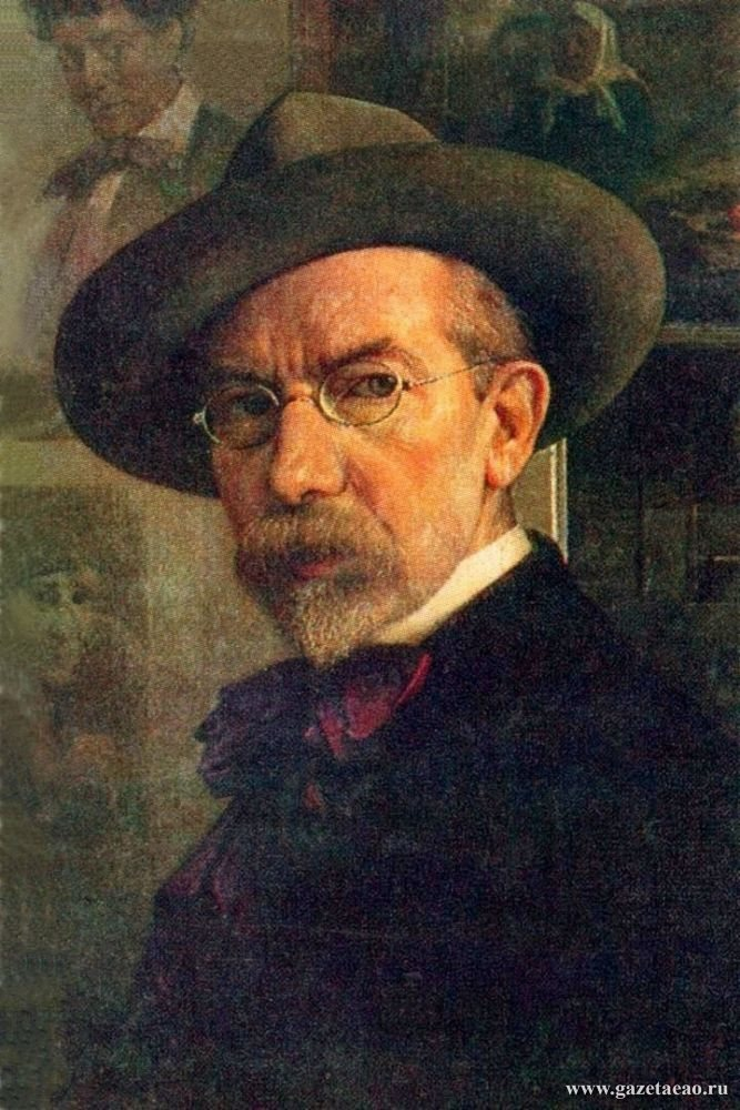 Отец еврейского ренессанса - Ю. Пэн. Автопортрет. 1922 год