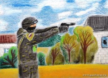 Воспитанница детского дома № 3 с. Валдгейм одержала победу во Всероссийском конкурсе рисунков