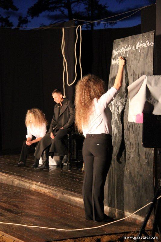 Облученский театр «Недетское время» проявил себя на фестивале Международного летнего театрального центра «Ольхон»