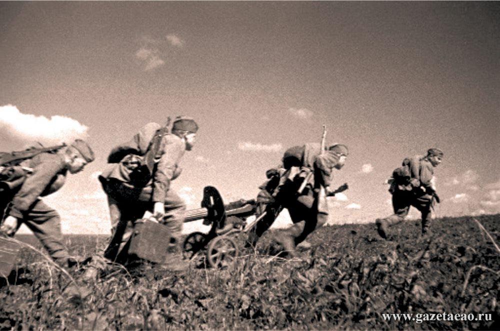 От Курска и Орла война довела…