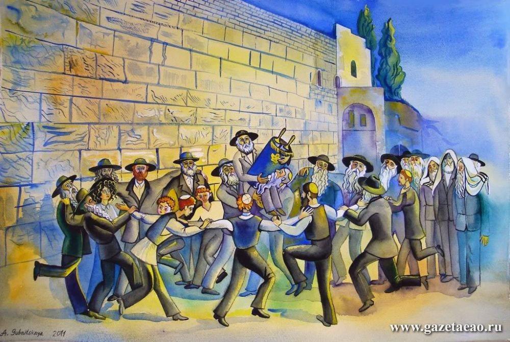 Еврейская жизнь – это круг