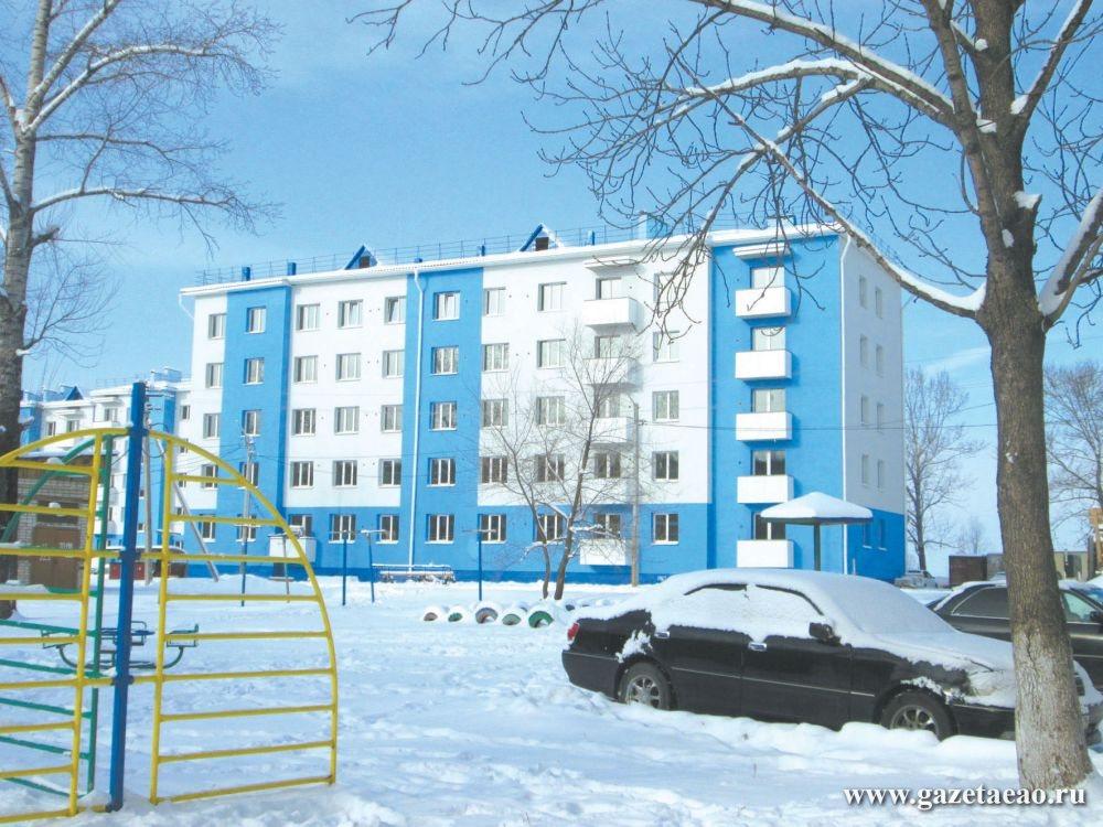 Новоселья таки будут, но с задержкой - Новый 40-квартирный дом в Биробиджане по ул. Московской