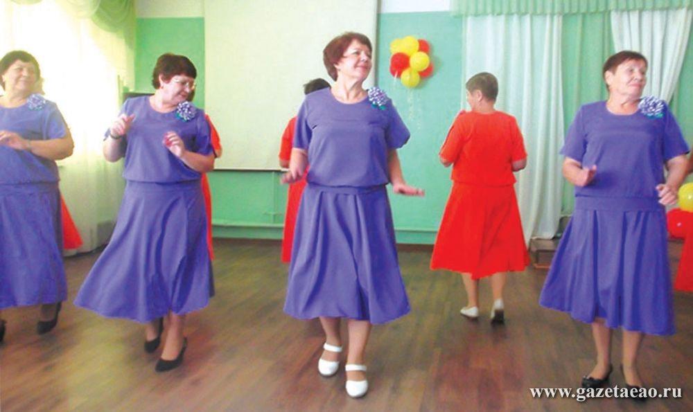 Возраст – не помеха для занятий танцами
