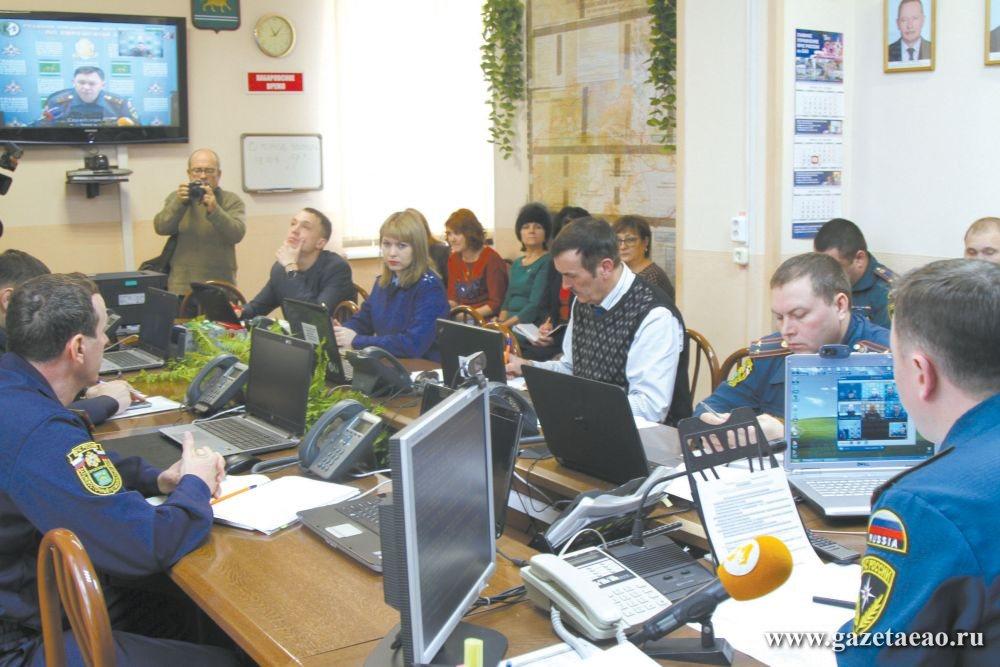 Естественная  мерзлота? - Межведомственный оперативный штаб в МЧС России по ЕАО