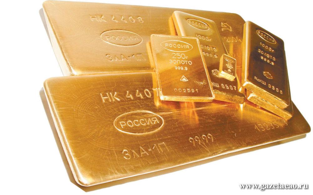 Копать до золота и глубже - На фото из Википедии — золотые слитки.