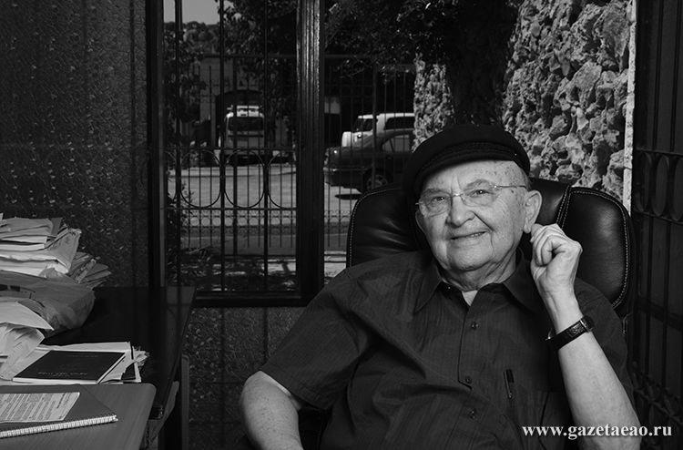 Писатель Аарон Аппельфельд (1932 – 2018)
