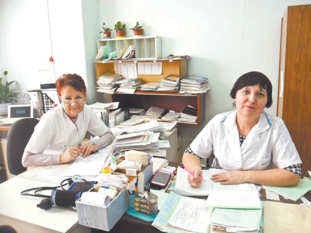 Сельская медицина на женских плечах