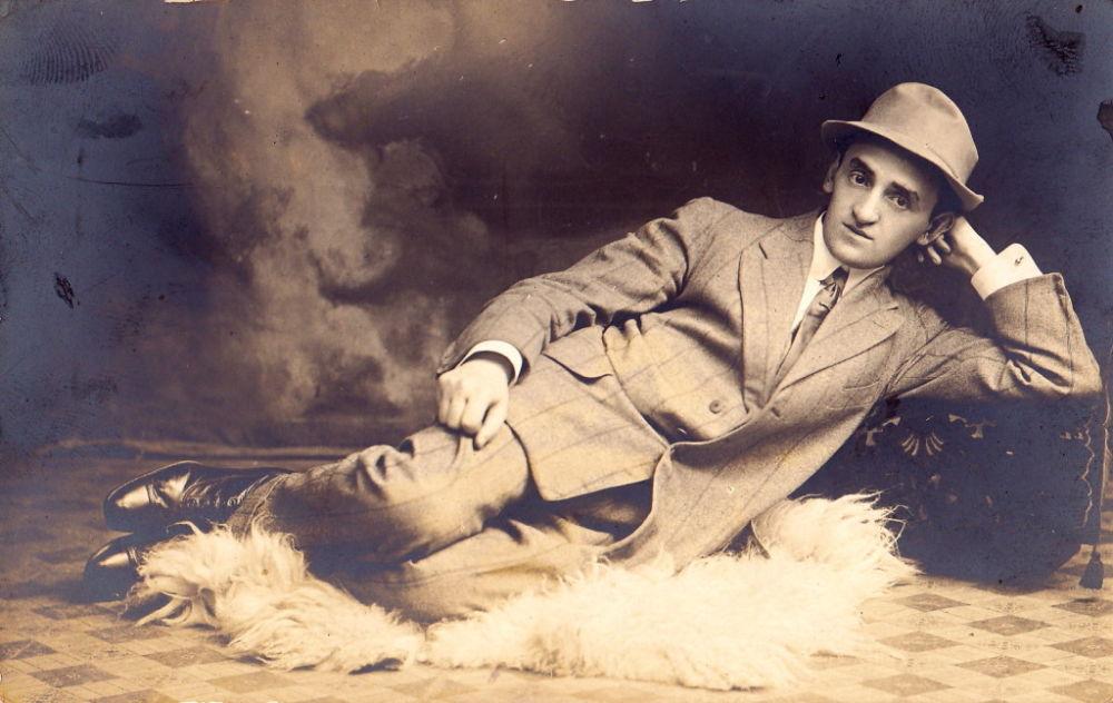 Писатель Иосиф Опатошу (1887–1954)