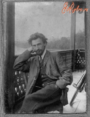 Русский дворянин,  которого помнит Израиль - Н.И. Блинов – студент Женевского университета. 1904. Фото из архива С.Н. Левицкой