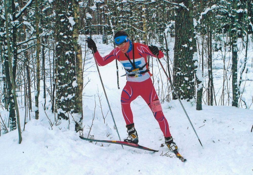 Осин Евгений бронзовый призер Первенства России по спортивному ориентированию на лыжах!