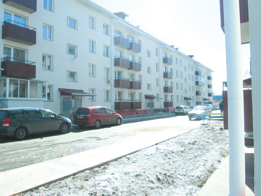 По новым адресам - Новый дом по улице Волочаевской, 18 в Биробиджане.